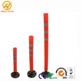 Orange / Rouge délinéateur Bollard / Ressort bollards