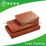 Commerce de gros carton de papier rigide de l'emballage cadeau cosmétiques Boîte avec couvercle