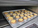 ベーキングパン機械、1デッキの2皿の電気オーブン(セリウムISO)