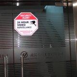 12명의 X12 팔각형 영상 감시 표시 - CCTV 보안 경고