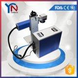 Вахта знонит по телефону машине маркировки лазера волокна металла CNC для сбывания