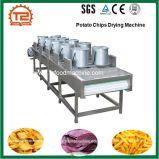 Industrieller Kartoffelchip-trocknende Maschinen-und Reinigung-Blumen-Trockner