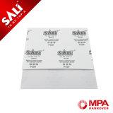 Feuille de papier de verre de blanc de polissage pour la voiture plus durables