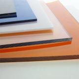 Halb transparentes bereiftes festes Polycarbonat-Blatt für 1.2mm oben