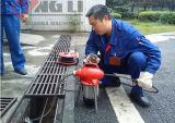 電気燃料およびゆとりパイプラインの使用の電気下水管の洗剤(GQ75)