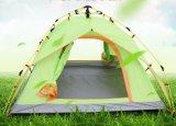 Il campeggio esterno automatico idraulico 3-4 genti raddoppia la tenda piegante