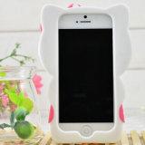 iPhone Samsung аргументы за мобильного телефона Hellokitty кремния милого шаржа 3D мягкое