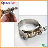 Зажим для резиновой трубы силикона нержавеющей стали 304