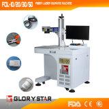 Máquina ótica da marcação do laser da fibra do metal de Glorystar
