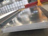 Círculo de alumínio escovado do alumínio H38 1050 da folha 5052 para o sinal de tráfego