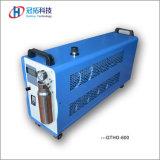 Uso Oxy-Hydrogen do gerador dos materiais suportáveis na soldadura e na selagem