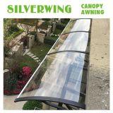 Ventana de la escuadra de aleación de aluminio toldo Rain Cover carrocería para Balcón/ventana/puerta