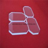 Plaque de silice pure d'optique de la plaque de quartz avec coin coupé
