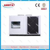 Condicionador de ar de unidade do telhado com recuperação de calor