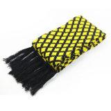 Диамант Unisex зимы теплый проверил шарф краев тяжелый связанный (SK174)