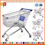 Gute Qualitätssupermarkt-Euroart-Einkaufen-Laufkatze (Zht6)
