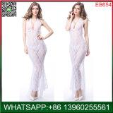 China Novo Circulante longo vestido Nightgown lingerie sexy com Backless