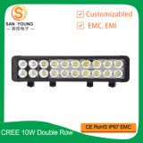 200W LED Light Bar Offroad Double Row, Ultra Slim LED Light Bar IP 68 étanche Super Bright LED Light Bar