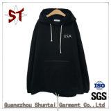 Мужчин в удлиненной худи Sweatshirt высшего качества, спортивных Hoodies