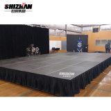 Алюминиевая рамка с платформы фанеры, черная юбка, открытый концерт для продажи
