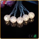 Crystal ball Crack ball LED Light string Decorative Lantern string transparency 10 Light Battery Holiday Light Best Price