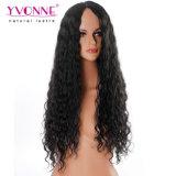 Peluca brasileña sin procesar del cordón del pelo de la peluca del pelo humano del visión
