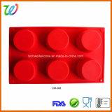 Бисфенол-А 6 гнездо силиконового герметика маффин доски