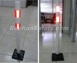 Столб весны столба Delineator LDPE дешевой белизны предупреждающий