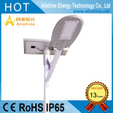20W/30W/40W/50W/60W/70W/80W Outdoor Semi-Separated Lampe LED intégrée Rue lumière solaire de jardin