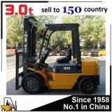 Heli Chl carregamento 3000kg da especificação do Forklift de 3 toneladas