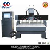 CNCのルーターの平らな彫版CNC木(VCT-1713W-6H)