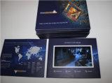"""Kundenspezifisches Geschäft 2.4 """" 4.3 """" 5 """" 7 """" 10 '' LCD Video-Broschüre"""