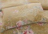 Usine de la Courtepointe de polyester colorées de ventes directes pour le printemps été automne