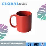 Tazza di caffè stupefacente del polacco di colore completo del regalo 11oz di promozione