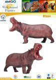 Förderung-heißes nach Maß Simulations-Tier-Flusspferd-Spielzeug