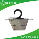 Tag de papel do cair da roupa de Folden da impressão feita sob encomenda