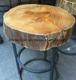 De Creatieve Zetel die van barkrukken Oude Manieren, Kruk herstellen van de Woonkamer van de Stoel van de Hoop van Mywood van de Pijnbomen van het Smeedijzer de Dwerg Originele Houten (m-X3416)