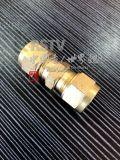 El casquillo de acero inoxidable tubo conector de unión en T de tres vías
