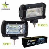 Lumière tous terrains automatique de travail du camion 72W de la barre 5inch ATV 4X4 d'éclairage LED des accessoires 8000lm 2row mini