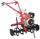 arado a motor diesel de 10 CV con el D186fa motor diésel para el cultivo de la granja