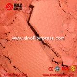 Petit filtre-presse hydraulique de bâti de plaque de pp pour le glutamate de monosodium