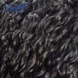 Оптовые перуанские естественные человеческие волосы девственницы волны в большом части