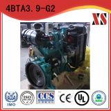 ディーゼル発電機セット4シリンダーCumminsのディーゼル機関4BTA3.9-G2