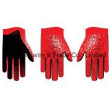 Sport esterni personalizzati dei guanti di disegno MTB che corrono guanto