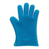 ベーキングおよびBBQのための多色刷りの耐熱性シリコーンの台所用品のオーブンの手袋
