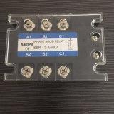 60AA 3개 단계 220VAC 반도체 계전기 SSR 전기 릴레이 600V