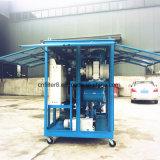 Tipo incluso macchinario dielettrico di filtrazione dell'olio dell'olio del trasformatore di vuoto (ZYD-W-100)