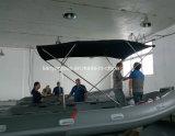 Balsas inflables del suelo de Liya los 2.4-5.2m de la costilla del casco rígido abierto del barco