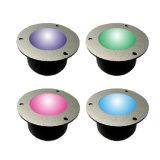 SMD5050 LED 지면 빛 스테인리스 주거, LED 지하 점화, 갑판 빛