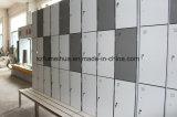 鉱泉の中心の木製の穀物のコンパクトの積層の更衣室HPLのロッカー